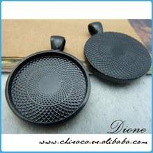 Wholesale guangzhou fashion new cabochon settings bezels pendant blanks pendant