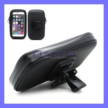 4.7Inch Water Resistant Rotating Bicycle Bike Mount Handle Bag Holder Case for iPhone 6
