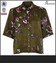 ladies printed sample design for blouses