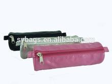 cute colorful pvc pencil cases / pen holder with zipper / zipper pencil pouch