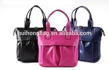2014 latest design famous brand genuine lady leather handbag mature women tote bag