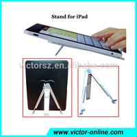 Aluminum Metal Mount Stand Holder Kickstand Tripod For Apple iPad 2 3 4 Air Mini