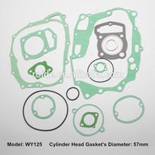 WY125 motorcycle full gasket kit