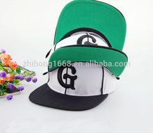 MZ00108 wholesale white G word man baseball cap fashionable trend baseball hat high quality