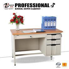 gold supplier latest design white high gloss office desk