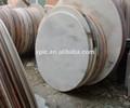 engenharia de pedra de trabalho superior 3cm parte superior da barra de mármore redonda mesa de jantar