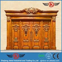 หรูหราประตูไม้ที่เป็นของแข็งราคา/คู่สไตล์ประตูประตูทางเข้า/ประตูจีนประตูไม้ที่เป็นของแข็ง