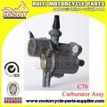 fabricado en china de la motocicleta del carburador para c70