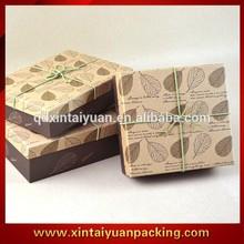 High-grade kraft paper birthday gift packing box , birthday gift box for friend