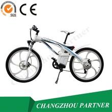 24v 250w 350w 500w motore del mozzo in lega di alluminio telaio della bicicletta e