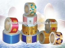 Rollstock Aluminium Sealing Foils for Plastic Bottles/ PE Bottles cap foil