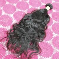 Top quality 8-36inch natural wave natural hair product top grade virgin human