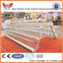 Avicoltura usato gabbia di pollo strato/zhongzhou professionale casa di progettazione di pollo