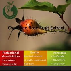 cheap Cherokee Rose Fruit Extract 4:1, 5:1, 5%,6%,10%