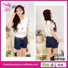 2014 summer Korean Hot Short Pants Twill Shorts Oversize Beach women Shorts