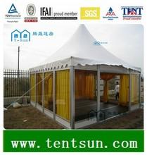 high quality outdoor aluminum glass pergola for sale