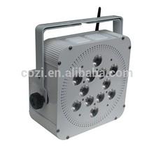 wireless DMX LED batter Par Light 12*15W 5in1 LED