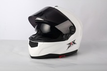 2014 ECE/DOT NEW model full face cascos motorcycle with clear visor JX-FF009