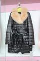 Les femmes manteaux de cuir/manteaux d'hiver pour les femmes/d'hiver manteaux en cuir avec col en renard fourrure