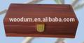 de madeira de cedro trancado pet caixão