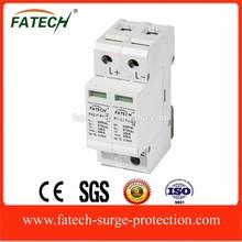 new design single phase dc electronic equipment 500V solar lightning surge protectIon device