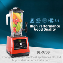 Popular Best Professional Stainless Steel Home kitchen blender mixer manufacturer