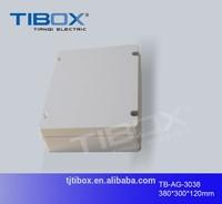 polycarbonate electronic enclosure plastic protection level IP66 electric case type plastic housing