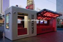 Myidea manufacturer prefab coffee kiosk booth design, portable booth kiosk design, portable kiosk booths