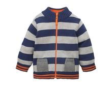 Four colours zipper cardigan knitting patterns kids sweater