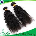 Barato qualidade curto comprimento do cabelo humano bundles kinky curly durável camadas barato brasileiros onda pacotes