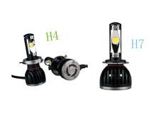 Super Bright All in one 12-24V 4800LM Hi/Lo car H4 LED Headlight