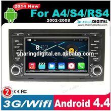 AUD-7684GDA Dual-core Cpu+gps Navigator+3g Wifi Double DIN Car DVD for audi a4
