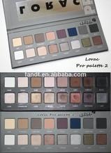 16 colors lorac shimmer eyeshadow fashion lorac2 eye shadow smoky shadow