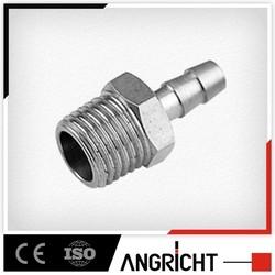B416- Air hose brass barbed nipple