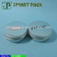 60ml metal Aluminum tin box