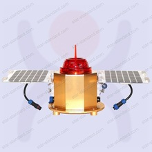 Solar Low-Intensity Type A Red LED Obstruction Beacon Light