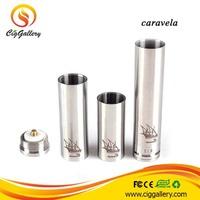 2014 Most Popular Caravela Mod Wholesale Ecig mechanical mod caravela drip tank mod clone