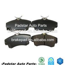 High quality used cars in dubai semi-metallic rear disc brake pads for hyundai sonata