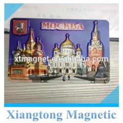 2015 NEW Design Promotional 3d souvenir fridge magnet /custom 3d fridge magnets/cheap custom fridge magnets