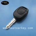 Heiß- verkaufen 1. taste auto leer schlüssel 433 mhz für renault scenic schlüssel renault schlüssel