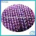 la moda de joyería de piedra amatista natural de los precios de piedras preciosas amatista filamentos