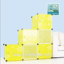 Chinese magic cubes shelf cabinet, girls bedroom wardrobe designs FH-AL0024-6