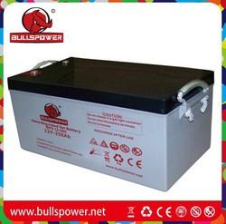 solar panel battery gel battery 12v 250ah power king battery 12v 250ah BPG12-250