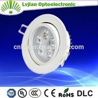 super ce&rohs 3-12w led flush mount ceiling light