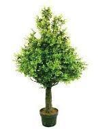 Potted green bonsai tree mini table artificial plant