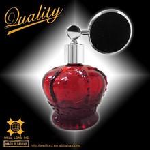 red body flat bulb luxury bottle india perfume