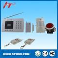 Económico Auto dial sistema de alarma inalámbrica gsm alarma de seguridad manual con marcador automático