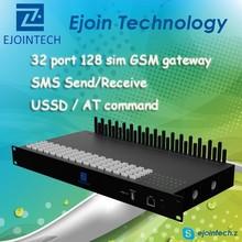 2014 Hotsale GSM gateway! ! Ejoin automatic imei change GoIP 32, 32 channel 128 Sim low price multi sim modem