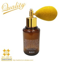 recycling perfume fill plastic clear spray amber pet bottle bio
