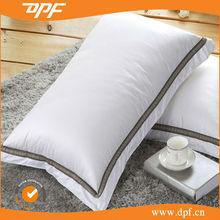 Microfiber sleeping tube pillow for hotel